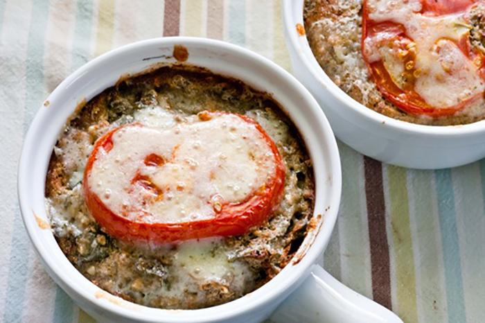 Veggie buckwheat bake