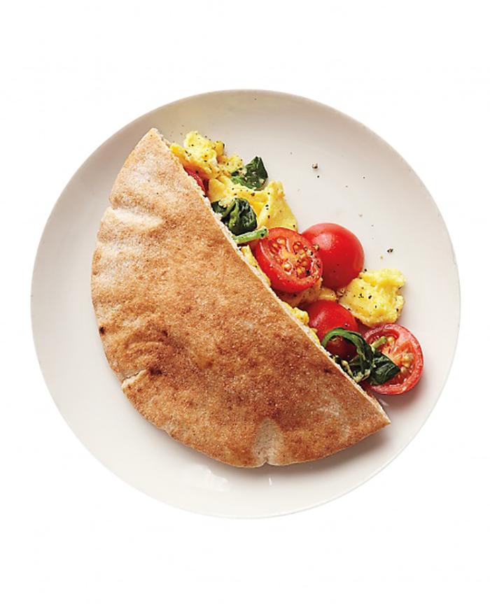 Veggie and egg scramble recipe