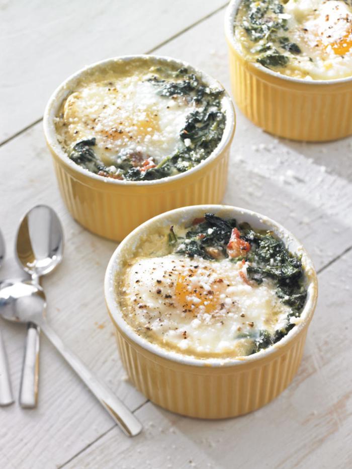 Baked eggs recipe
