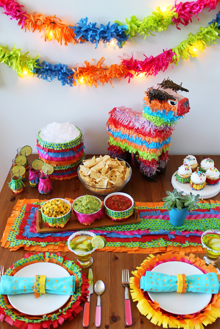 How to throw the best mexican fiesta ever for Mexican party decorations
