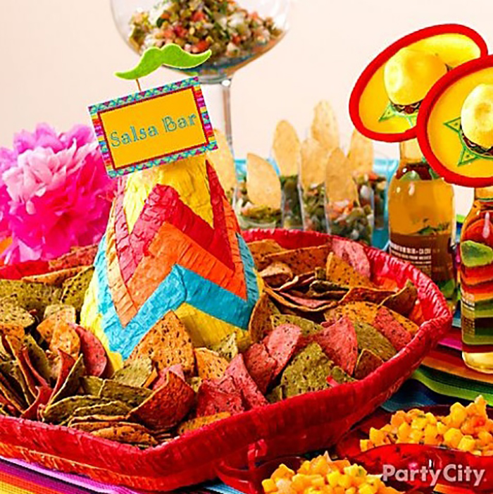 Chips + Sombrero = the start of a party. Click to read more!