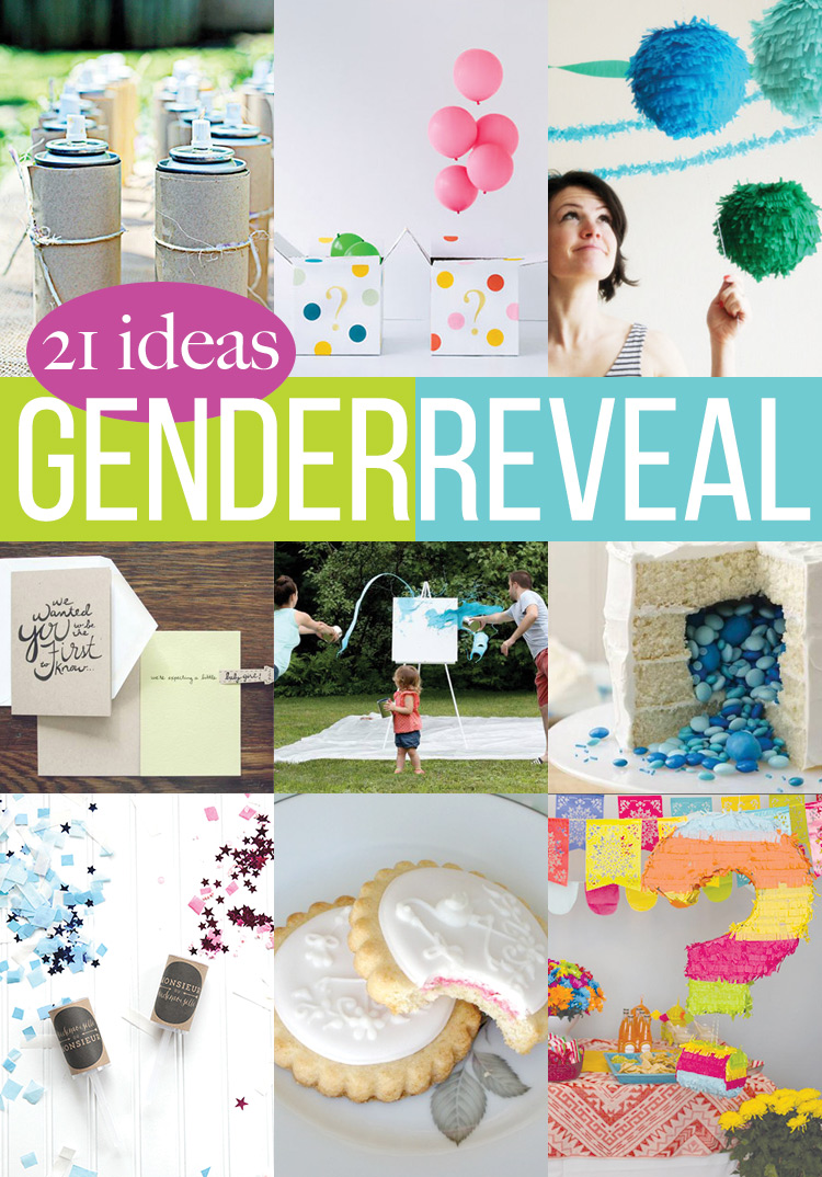 21 Gender Reveal Crafts Andreas Notebook – Announcing the Gender of the Baby Ideas