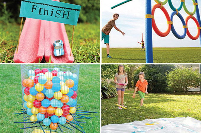 25 Outdoor Games to Make for Kids - I'm definitely making some of these!