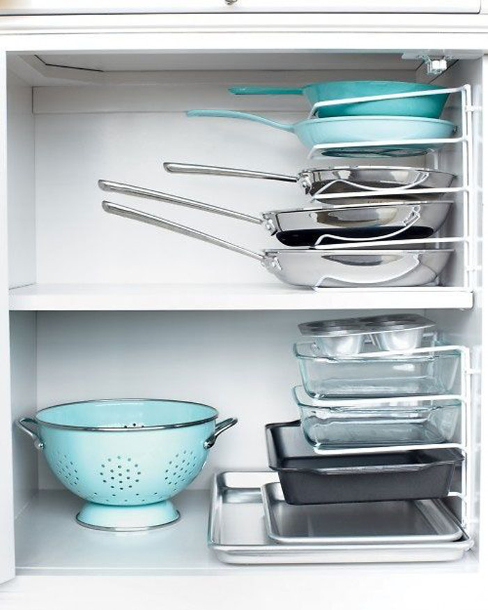 Storage for Pans and Baking Dishes