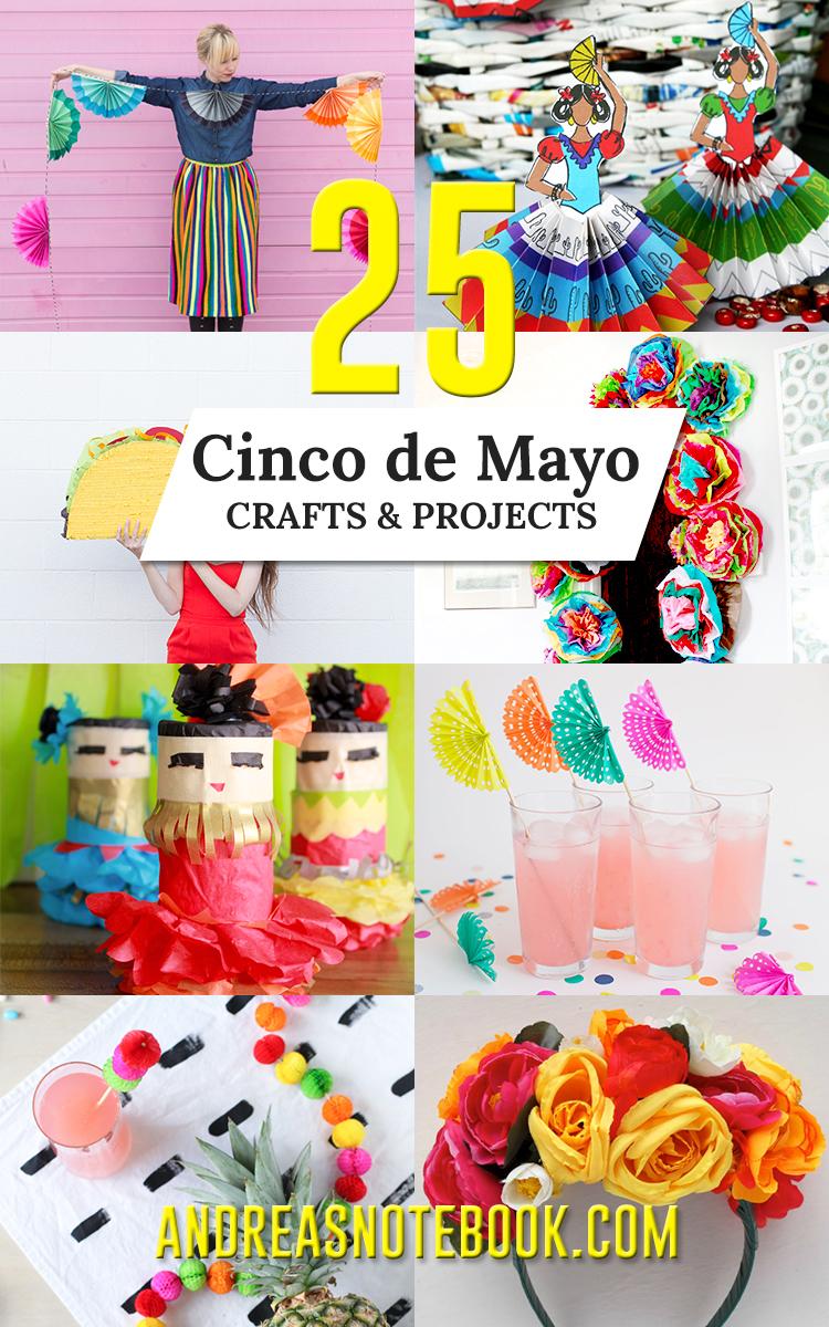25 fun, colorful Cinco de Mayo crafts!