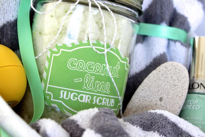 Coconut Lime Sugar Scrub for Mom