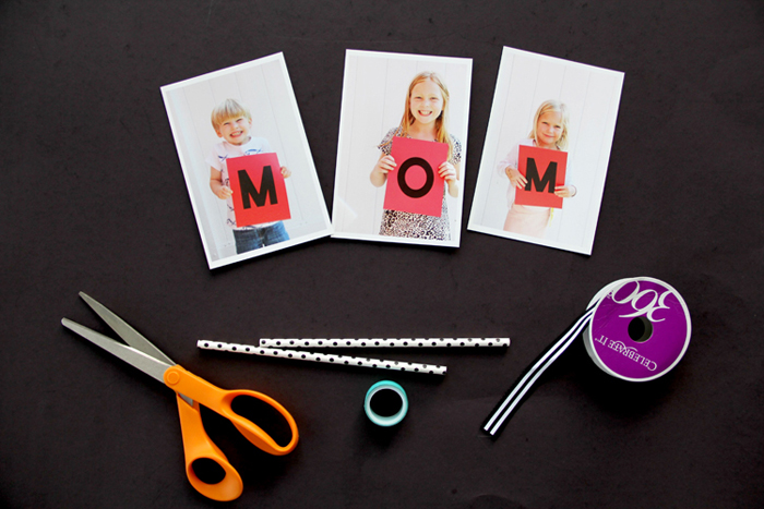 Mother's Day Cake Photo Bunting Supplies