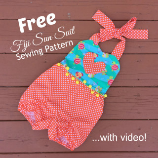 Free Fiji Sun Suit Sewing Pattern