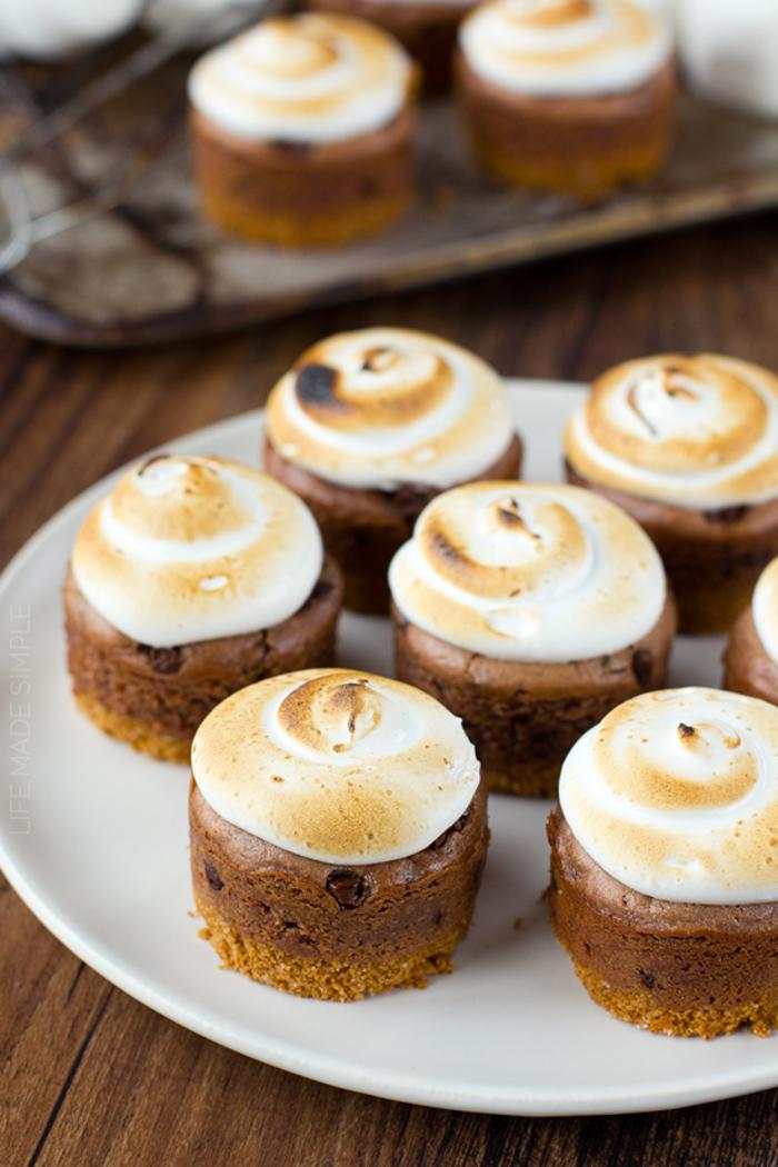 Mini S'more Cheesecake