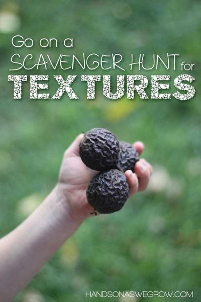 texture scavenger hunt
