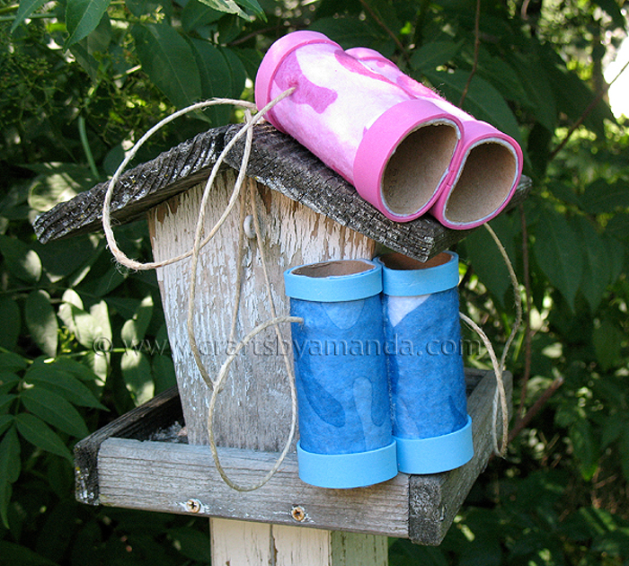 binoculars DIY