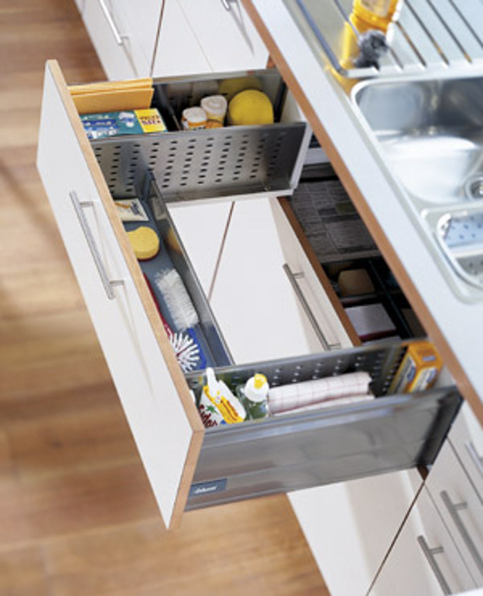 Drawer Around Sink