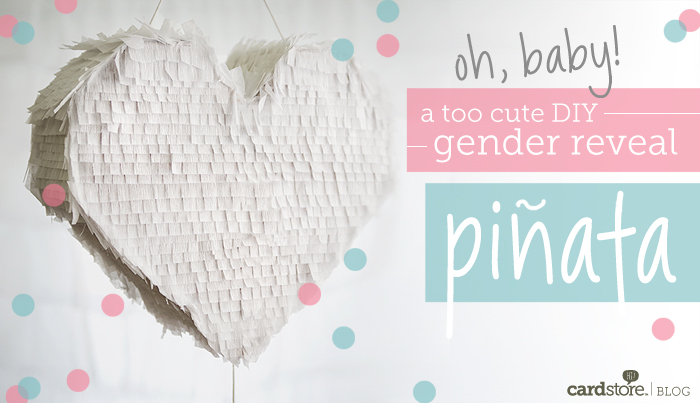 Instructions on how to build your own gender reveal pinata