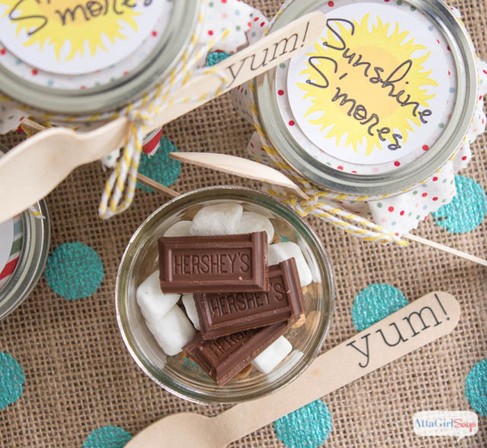 S'more in a Jar