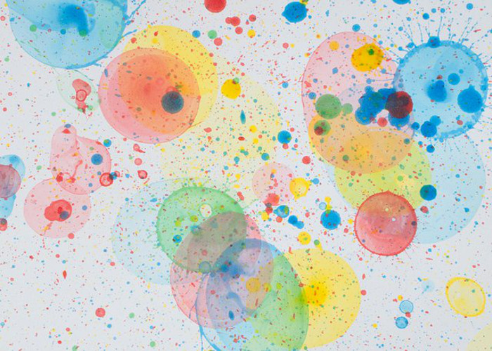 Popped Bubble Art