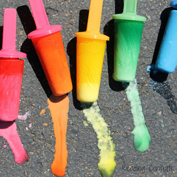 Popsicle Chalk