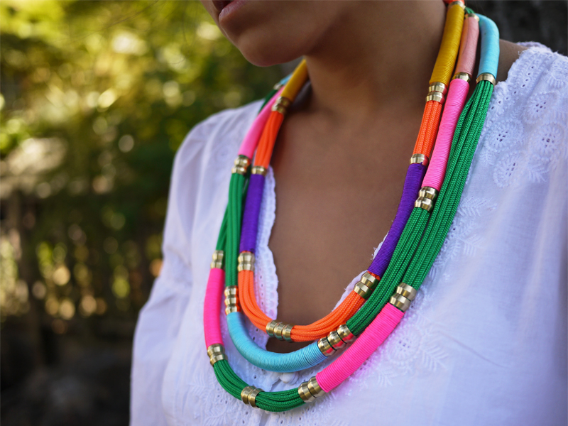 Best 25 DIY Necklace Tutorials