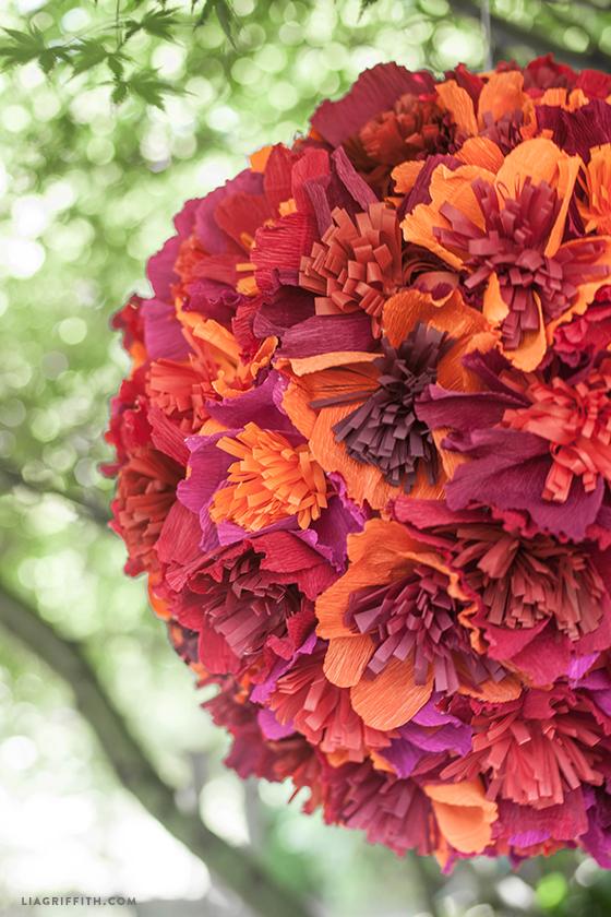 Flower pinata tutorial