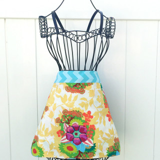 Quick One Hour Apron Sewing Pattern