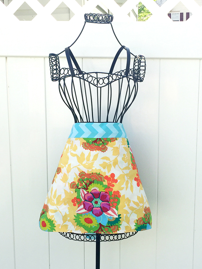 Quick Mother's Day Apron