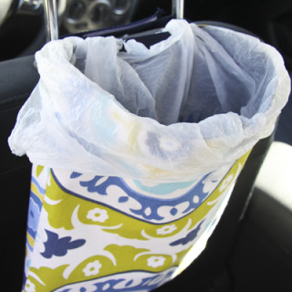 Sew Your Own Car Trash Bag