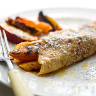 Crêpes With Grilled Peaches and Apricots