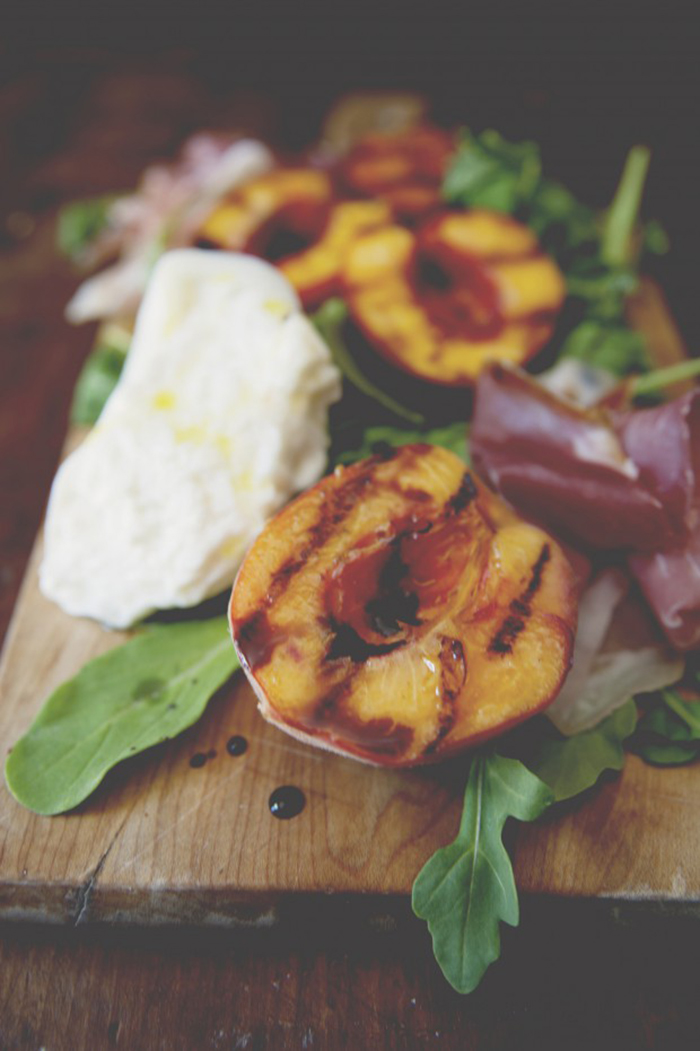 Grilled Stone Fruit Sweet and Savory