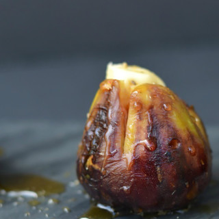 Grilled Brie Stuffed Figs