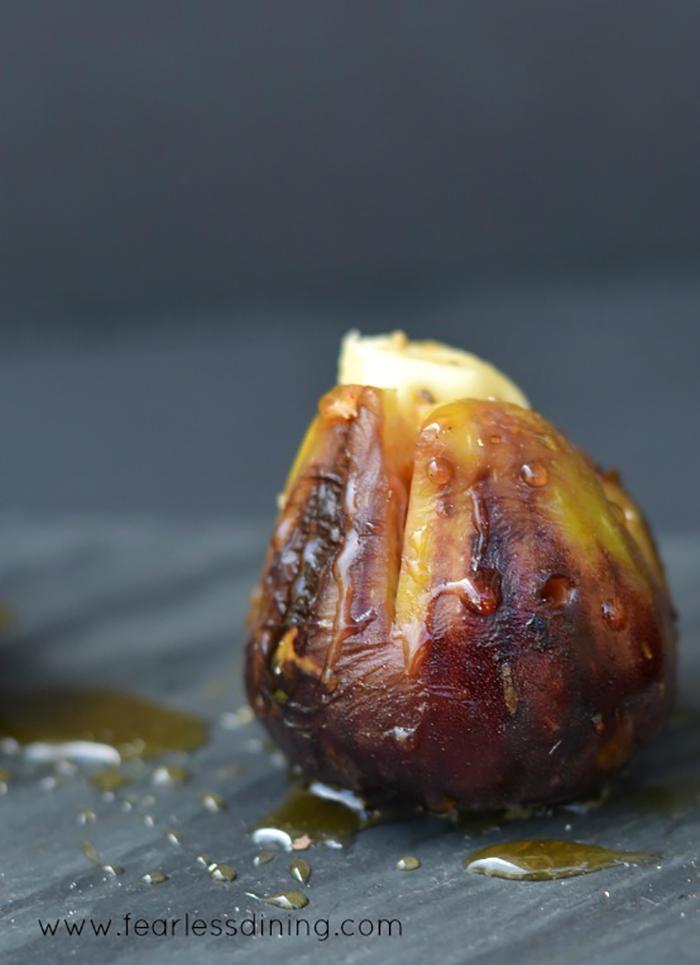 Grilled Brie Stuffed Figs - A.M.A.Z.I.N.G.