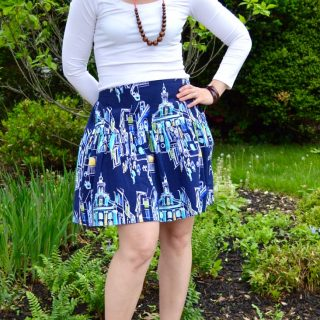 The Flirty Skirt – Free Pattern