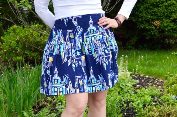 The Flirty Skirt - Free Tutorial