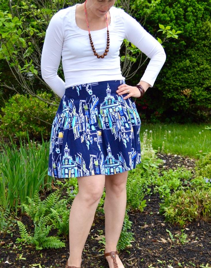 The Flirty Skirt - Free Pattern