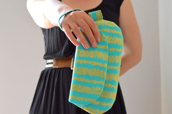 The Date Night Clutch and Wristlet {Free Pattern}