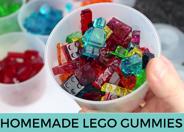 Homemade Lego Gummies