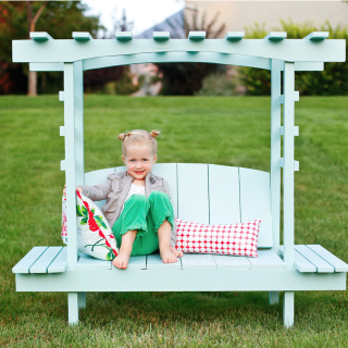 Child's Arbor Bench