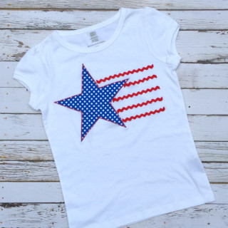 Free Stars & Stripes Applique Tutorial w. Pattern