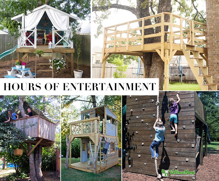 great ideas for treehouses - Easy Kids Tree House