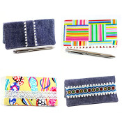 How to sew your own checkbook cover - GREAT gift idea!