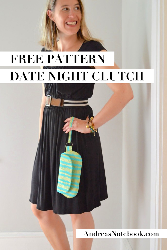 FREE Date Night Clutch pattern!
