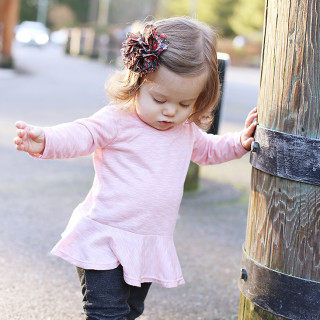 Toddler Peplum Top Free Pattern