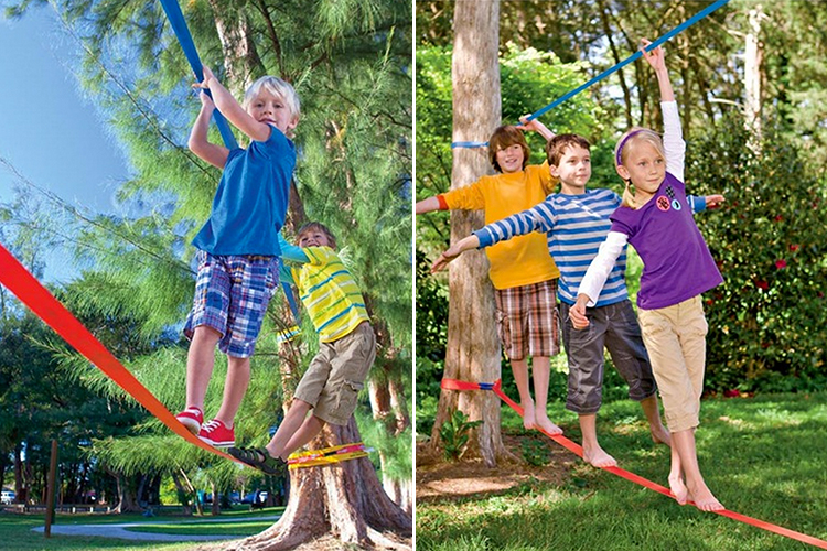 How to make a slackline in your backyard