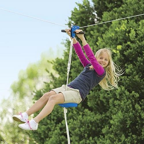 Why You Should Make a Backyard Zip Line