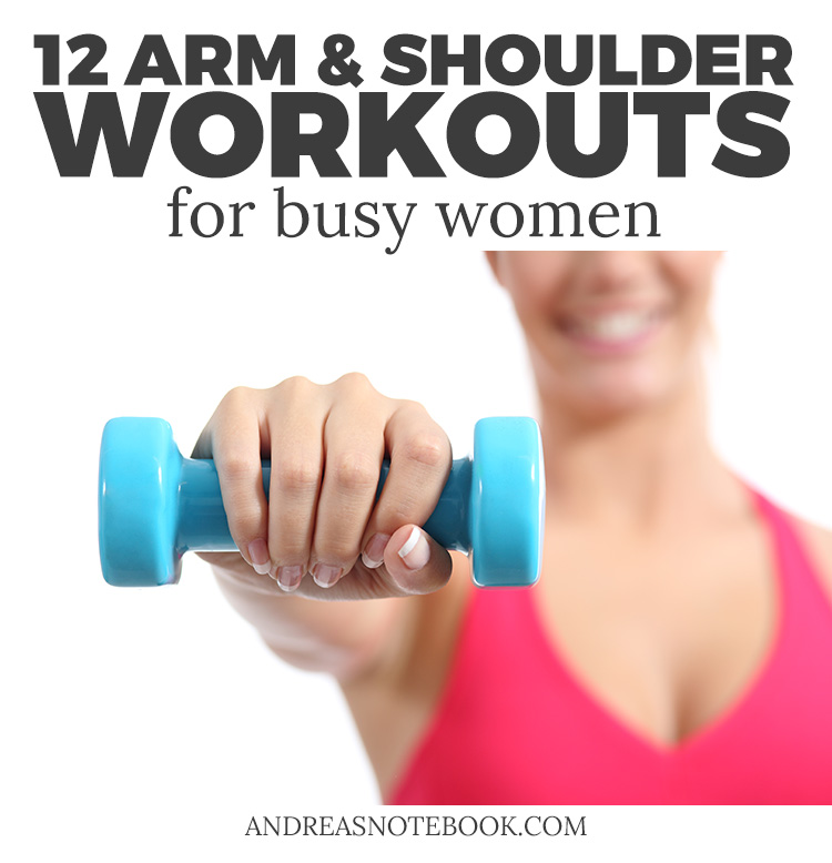 Busy? Try these arm and shoulder workouts!