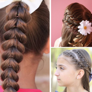 Cute and Doable Girl's Hairstyles