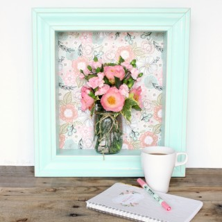 Pastel Shadow Box Shelf