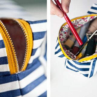 Sew a Boxy Pouch