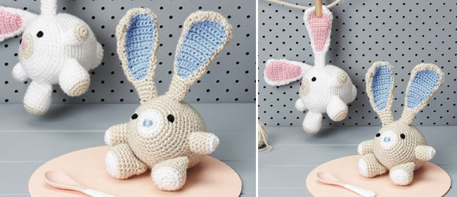 Adorable Crochet Rabbit