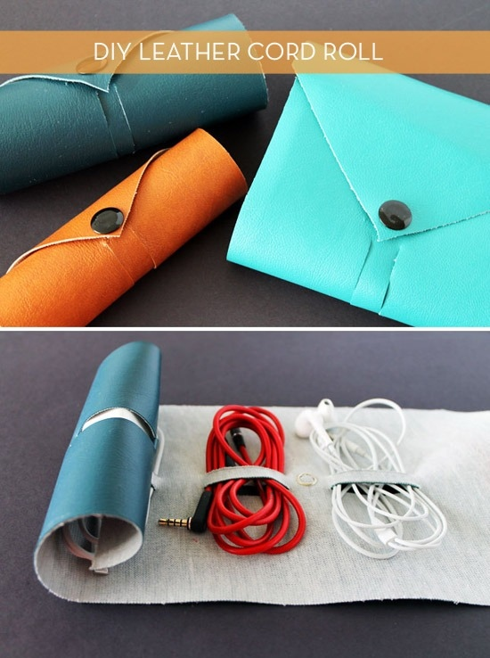Leather Cord Roll