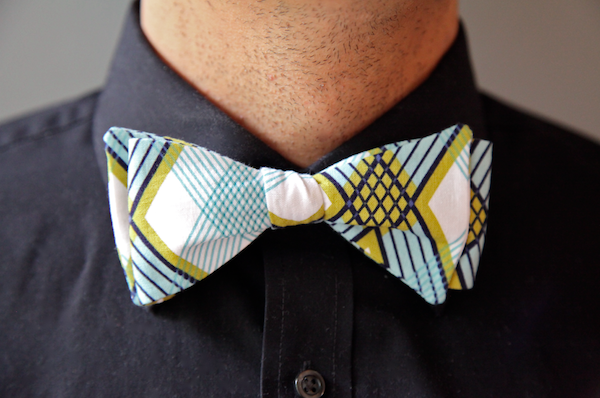 Men's Bow Tie Tutorial
