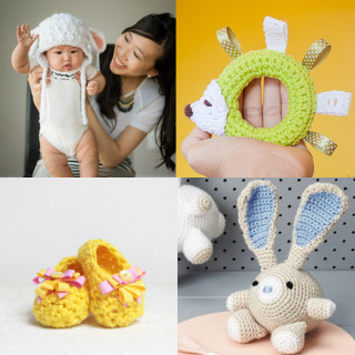 12 Adorable Baby Crochet Tutorials